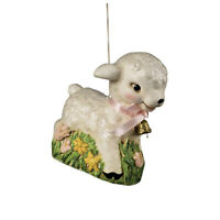 Bethany Lowe Retro Baby Sheep Lamb Spring Time Easter Ornament Home Decoration