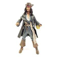"Captain Jack Sparrow Large 18"" Figure w/Motion Activated Sound Pirates NECA 2004"
