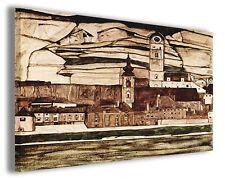 Quadro moderno Egon Schiele vol XVI stampa su tela canvas pittori famosi