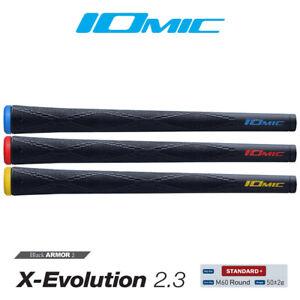 Iomic Swinger Grips - Black Armor 2 Series X-Evolution 2.3 (Round)