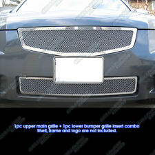 Fits 07-08 Nissan Maxima Stainless Steel Mesh Grille Combo