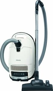 Miele Complete C3 Silence Bagged Vacuum Cleaner, 550 W, White