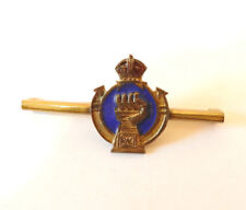 Military WW2 Royal Armoured Corps Enamel Sweetheart Brooch Badge (4953)
