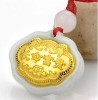 New Arrival Best 24K Yellow Gold Man-made Crystal Unique Lucky Monkey Pendant