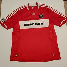 Chicago  Fire  2008/2009 HOME Soccer Jersey size XL  RED