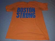 Vintage Port and Company Boston Strong Orange Men's T-shirt Size Medium