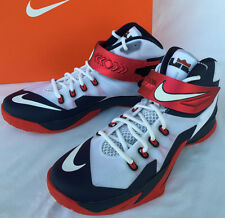 Nike Zoom Soldier VIII 8 Lebron James 653641-114 Basketball Shoes Men's 10 new