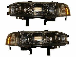 For 1990-1991 Honda Accord Headlight Assembly Set 73861ZP Headlight Assembly