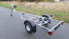 Bootstrailer Bootsanhänger Brenderup Basic 600, Windenstand Rollen und Stützrad