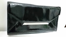 Mimco ORIGAMI Envelope Box Evening Clutch Purse BNWT Black RRP $199