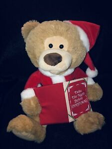 Holiday Time Animated Story Bear Twas The Night Before Christmas