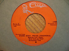 CUCA 45 RECORD J4000/STAND ROCK CEREMONIAL/ 5 SONG EP/ VG VINYL
