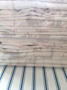 Laura Ashley josette Dark Linen curtains W)223cm L)183