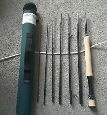 ORVIS Frequent Flyer Travel Rod in case 7piece Xmas Gift mint 9 ft fly fishing