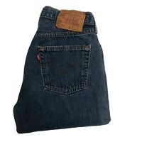 LEVIS 501 Womens High Waisted Mom Boyfriend Fit Jeans W28 L30 Blue USA Vintage