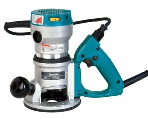 Makita 2-1/4 HP D-Handle Router 8,000-24,000 RPM, Variable Speed