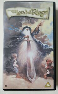 The Lord Of The Rings (1978) - VHS - animated, John Hurt, J.R.R. Tolkien