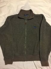 Penfield Vintage Gray Mens Fleece Jacket Size Large