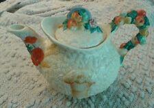 Clarice Cliff 1930s Ceramic Ware Celtic Harvest Teapot Newport Pottery England