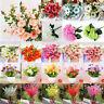 100+ Artificial Fake Silk Flower Bridal Bouquet Hydrangea Home Wedding Decor