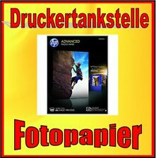 original HP Premium Advanced Fotopapier 25 Blatt 250g 10x15 glossy glänzend