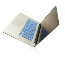 """BLUE Silicone Keyboard Cover for NEW Macbook Pro 15"""" A1398  with Retina display"""