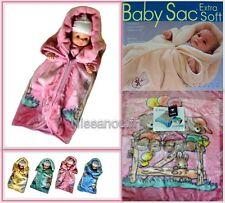 Baby Sac COUVERTURE POLAIRE bébé GIGOTEUSE NID D'ANGE  idee cadeau naissance ROS