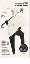 PUBLICITE ADVERTISING 034   1965   CCC  vetements de ski