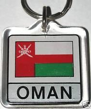 Oman, Saltanat 'Uman, عُمان Flag Key Chain NEW