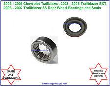 Rear Wheel Bearing & Seal Fit for 2002 2003 2004 - 2009 Chevrolet Trailblazer
