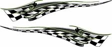 """Boat Car Truck Trailer Motorcycle Graphics Decals flag Stickers set 60"""" X 12"""""""