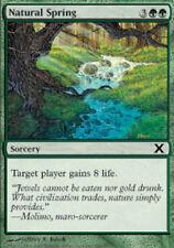 Natural Spring X4 (10th Edition) MTG (NM) *CCGHouse* Magic
