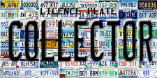 LICENCE PLATE COLLECTORS MAGNET ALL NORTH AMERICAN LICENCE PLATES