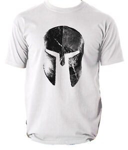 SPARTAN HELMET MENS T SHIRT TRAINING WORKOUT  MMA GYM FITNESS ALL SIZES 6 COLOUR