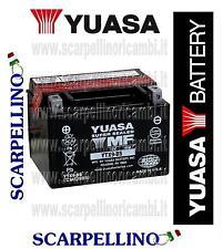 BATTERIA YUASA YTX9-BS CON ACIDO PER HONDA TR FAT CAT 200 cc DAL 1986 -BATTERY