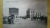 TARANTO - PIAZZA FONTANA - VIAGGIATA ANIMATA -1913