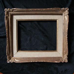 Cadre montparnasse ancien pour tableau, en bois 30 cm x 35 cm