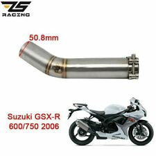 Motorcycle Exhaust Mid Pipe Middle Link For SUZUKI GSXR600 GSXR750 2006