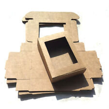 50PCS Kraft Paper Box Wedding Favor Candy Gift Party Supply Craft Box