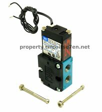 MAC Boost Solenoid BCS 4 port 46A-AA1-JDBA-1BA for Dual Port Actuators INCLUDES