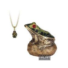Secrets from Hidden Treasures 1043 Frog Trinket Box