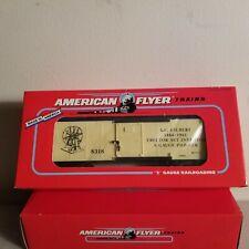 American Flyer 6-48318 A. C. Gilbert Boxcar<++++>Original Box<++++>