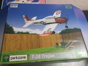 Rc Plane Parkzone T28 Trojan  Indoor Uktra Micro Flyer Used