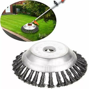 "6"" Removal Weeding Trimmer Grass Cutter Head Part Replace Steel Wire Rust garden"