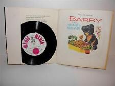 Vintage 1978 BARRY THE HONEY BEAR Talking Story BOOK + RECORD_ Magic Media