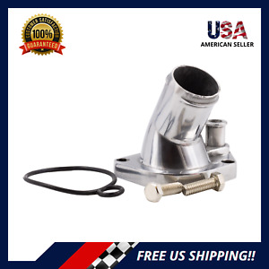 Spectre 42321 Chrome-Plated Thermostat Housing for Ford Small Block V8