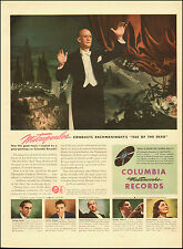 1946 Vintage ad for Columbia Records`Conductor Mitropoulos`Art (061514)