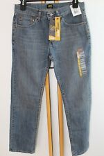 Lee Regular Classic Fit Men's Blue Jeans Size 34 L 32 Straight  NWT NEW Pants