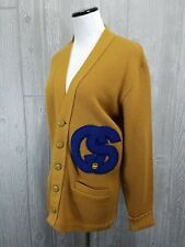 Vintage 1960's Crystal Springs, MS Ladies Varsity Basketball Sweater Size Large