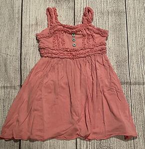 Matilda Jane Hello Lovely! Cross My Heart Emilia Dress VGUC Size 2